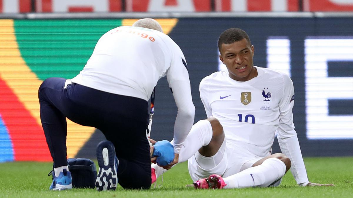 Mbappe's ankle 'hurts a bit' after knock in France's win over Sweden