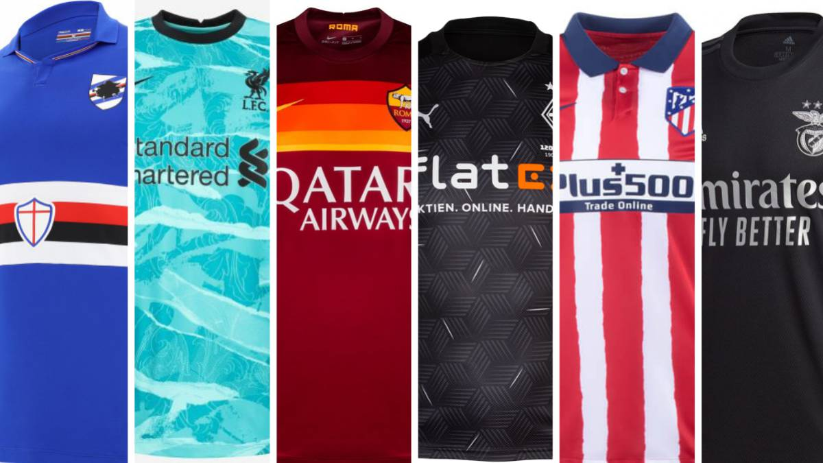 Top 10 Best New Football Kits For The 2020 21 Season As Com