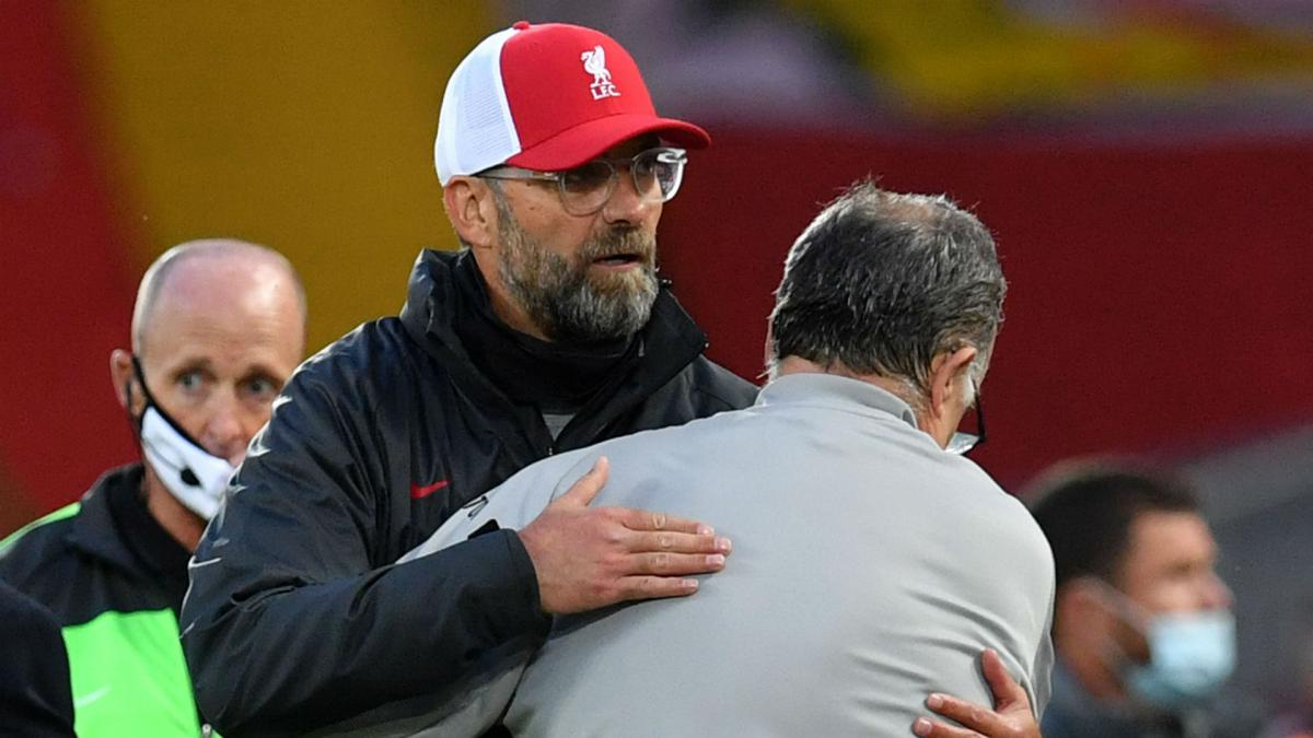 I loved it! Klopp revels in Anfield 'spectacle' against Leeds
