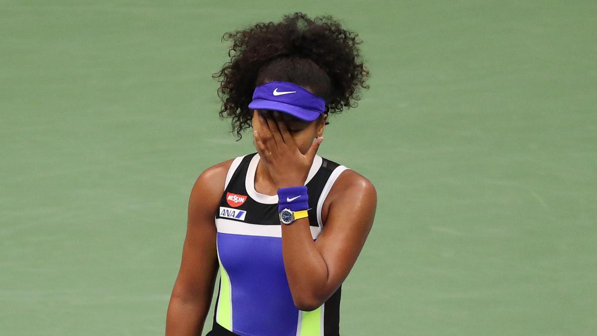 US Open 2020: Osaka champion again as battling Azarenka misses out