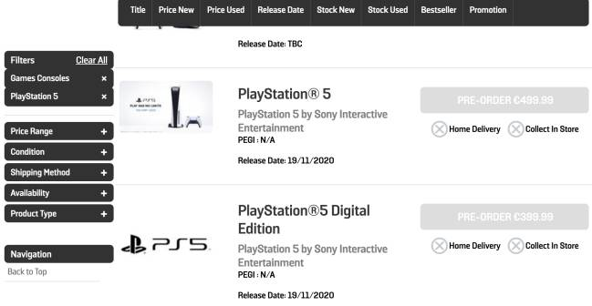 Sony Ps5 Console Price And How To Pre Order In Usa In Gamestop Walmart Amazon As Com