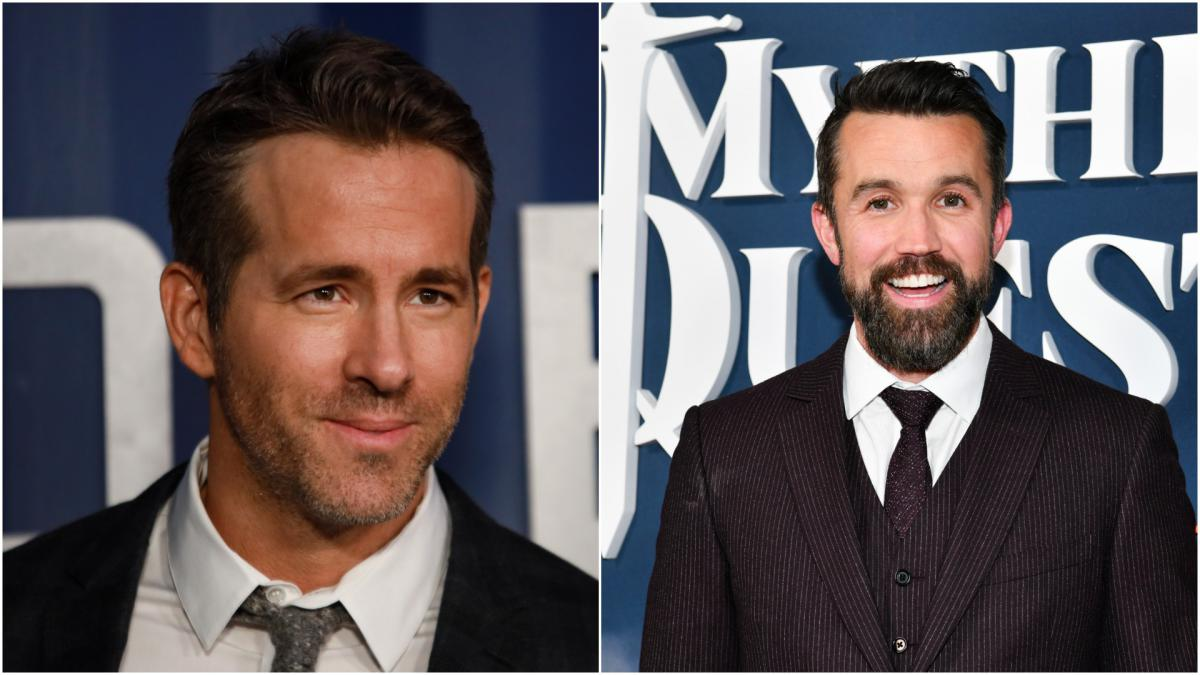 Hollywood stars Ryan Reynolds and Rob McElhenney in Wrexham takeover bid