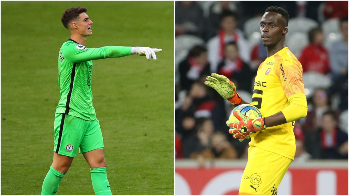 Edouard Mendy v Kepa Arrizabalaga: Chelsea keepers compared using Opta data