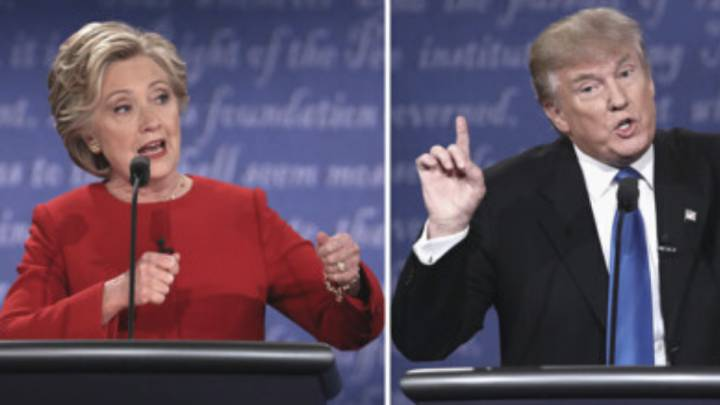 USA election 2020: who won the first debate in 2016?