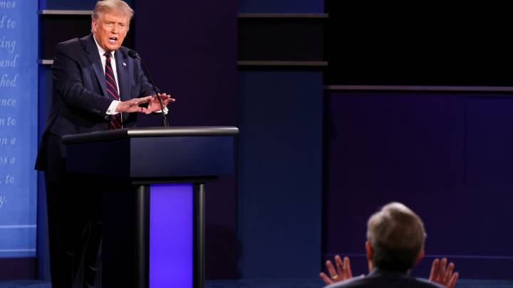 US elections 2020: What did moderator Chris Wallace and Trump argue about?