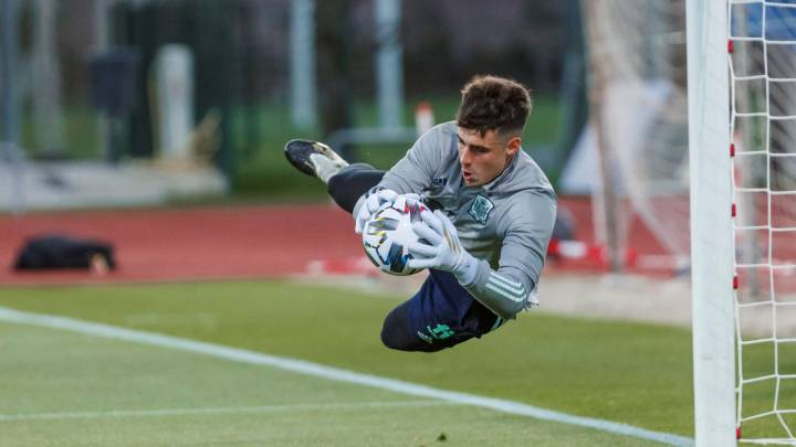 Luis Enrique: 'time to see what Kepa is made of'