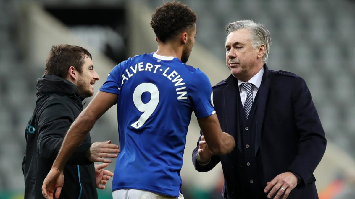 Calvert-Lewin credits Ancelotti's 'cool' Everton approach for superb goalscoring form
