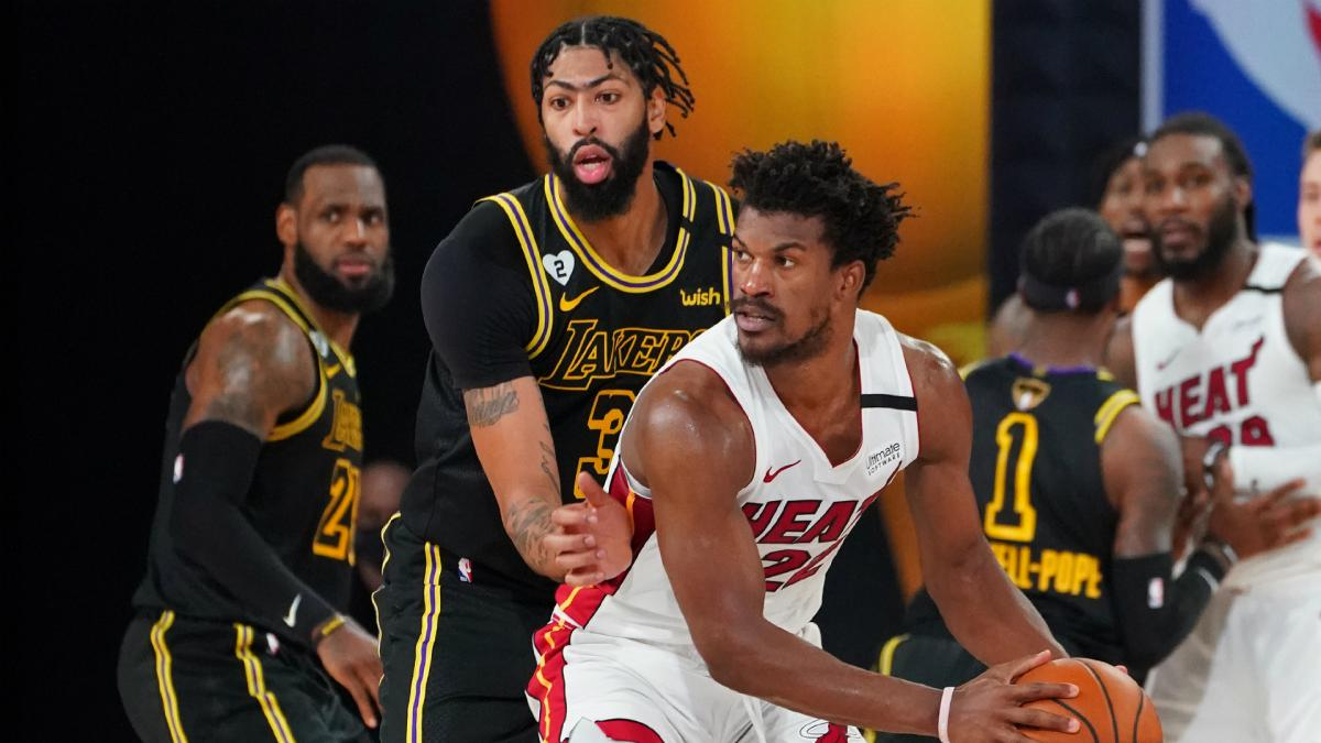 NBA Finals: Lakers denied title as Butler's Heat stay alive in thriller