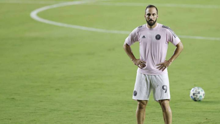 Higuaín brothers link up at Inter Miami