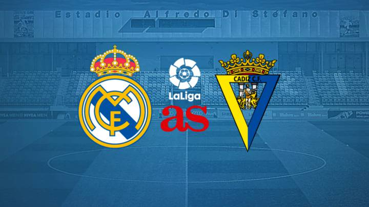 Real Madrid vs Cádiz: how and where to watch: times, TV, online