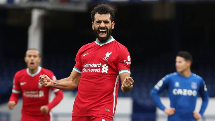 Salah reaches 100 goals for Liverpool in Everton draw