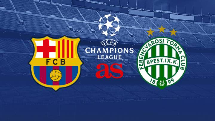 Barcelona vs Ferencváros: How and where to watch - times, tv, online