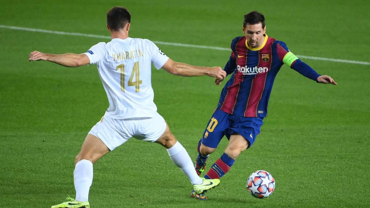 Messi Has Barcelona Ticking Against Lively Ferencvaros As Com