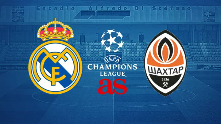 Real Madrid vs Shakhtar Donetsk: How and where to watch - times, tv, online