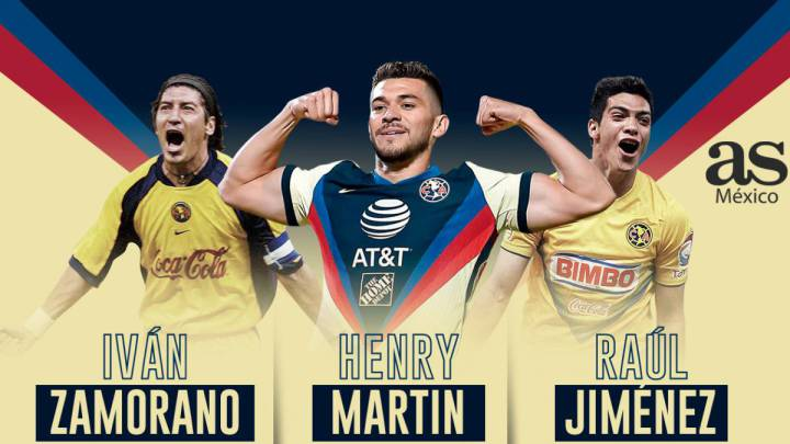 Henry Martín enters Club América's top scorer list of all time