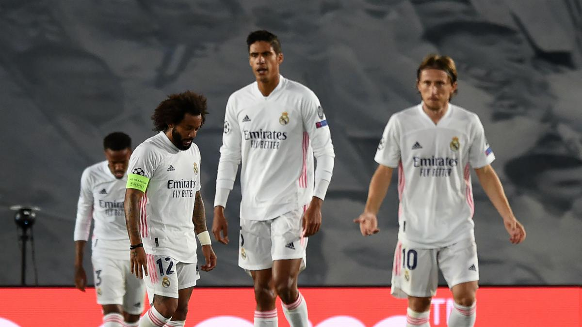 Real Madrid endure worst Champions League first half since 2005