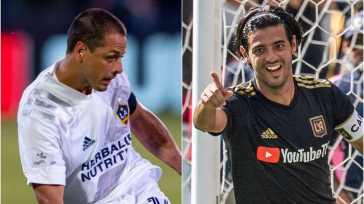 Chicharito and Carlos Vela set to face each other for first time in MLS