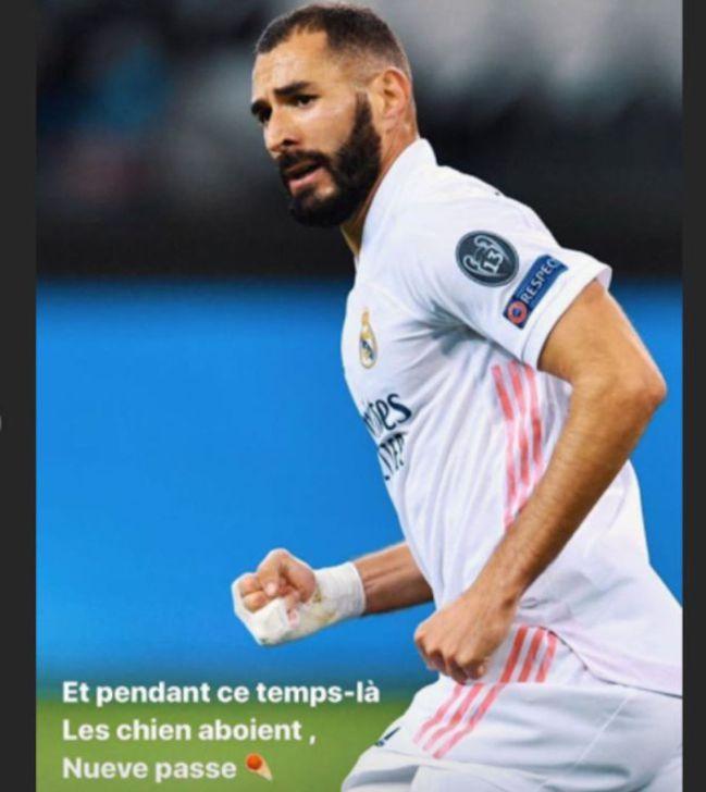 Real Madrid: Benzema responds to Vinícius criticism claims - AS.com