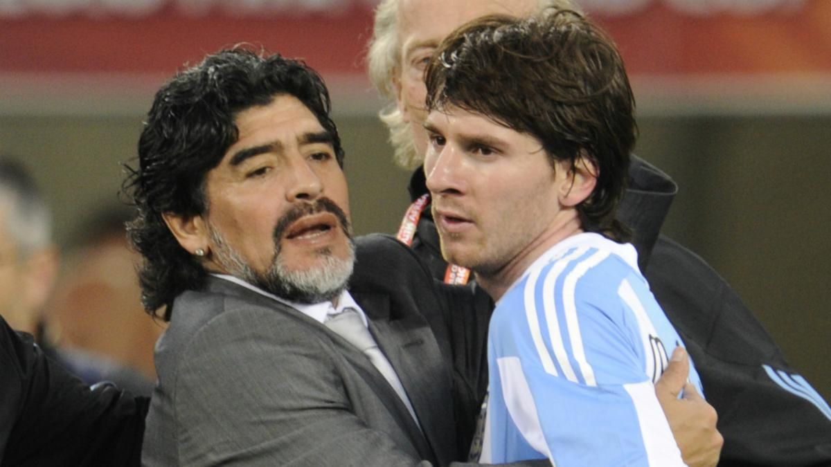 Messi wishes Maradona 'all the strength in the world' after brain surgery