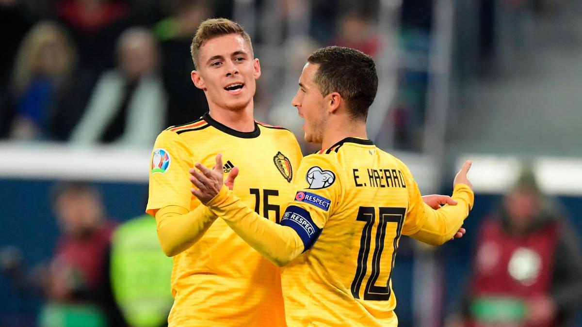 Thorgan Hazard criticises packed schedule and provides update on brother Eden