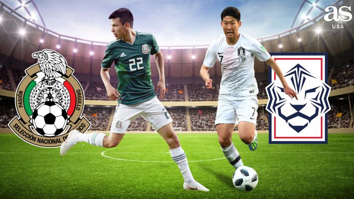 Mexico vs South Korea live online: FIFA International Friendly