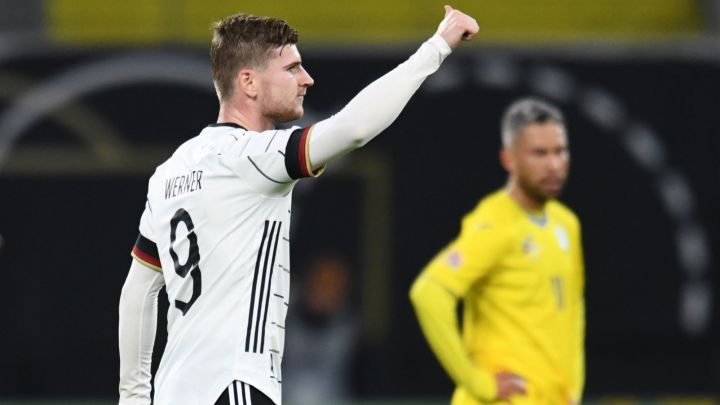 Werner double seals Germany comeback victory over Ukraine