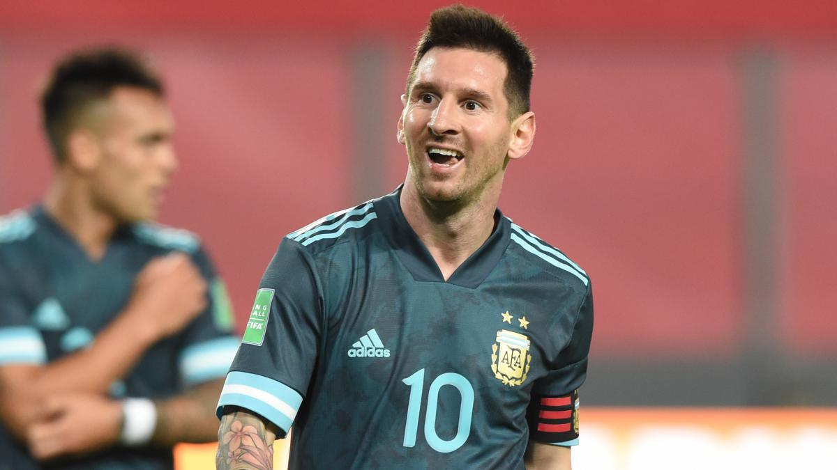 Messi praises Argentina growth after Peru win