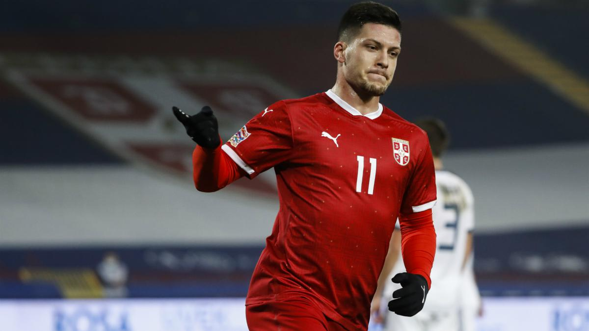 Jovic has more goals for Serbia in three matches than entire Real Madrid career