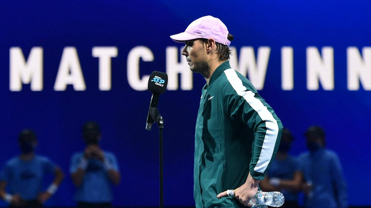ATP Finals: Nadal relishing semi-final chance but missing crowds in London