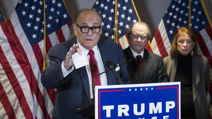 US Election 2020: fact-check on Rudy Giuliani's press conference and Trump legal issues