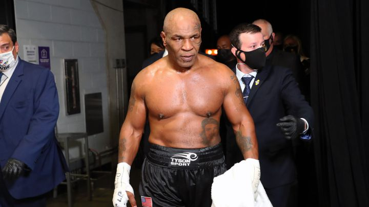 How much money did Mike Tyson make from his comeback fight?