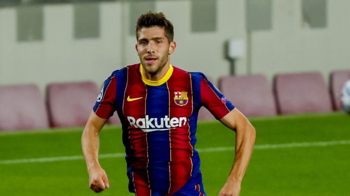 Barcelona: Sergi Roberto tests positive for coronavirus