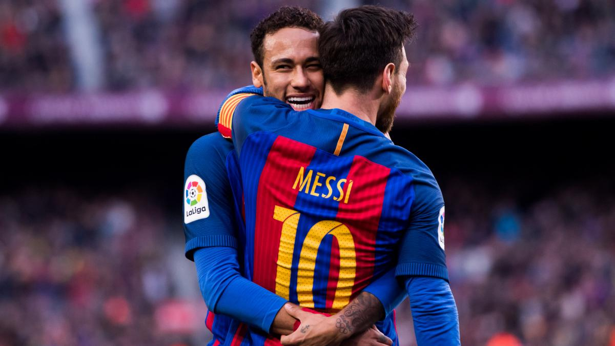 Neymar: What I want most is to play with Messi again