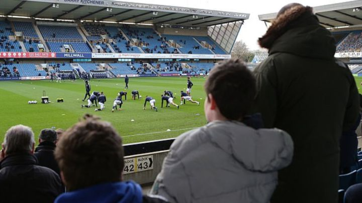 Millwall saddened by fans booing players who took the knee