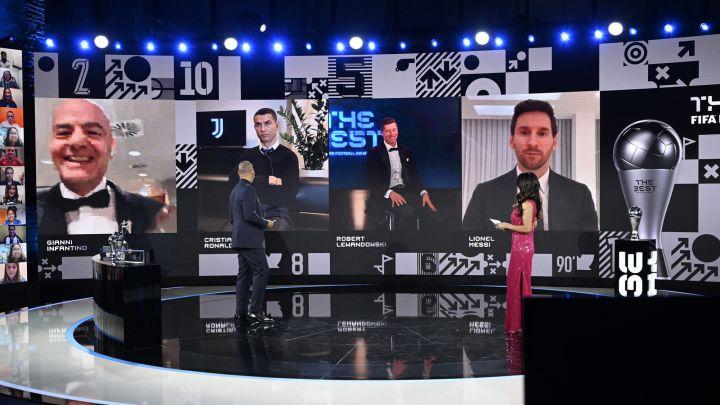 """Robert Lewandowski venceu Cristiano Ronaldo e Lionel Messi no prêmio """"Os melhores"""" da FIFA"""