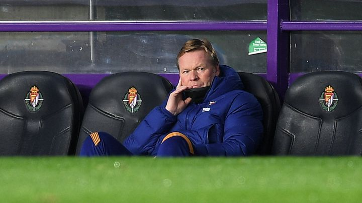 "Koeman on his situation at Barcelona: ""It's out of our hands"""
