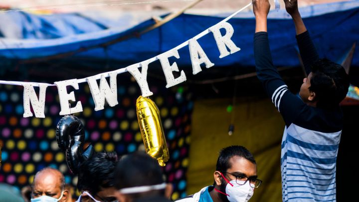 Which country celebrates New Year's first?