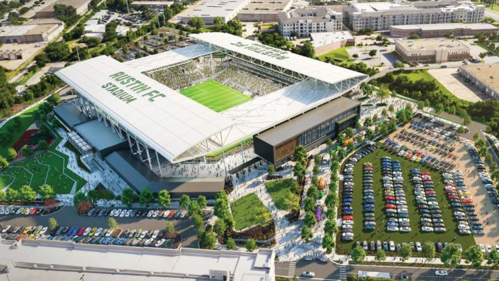 The three stadiums that will debut in the 2021 MLS season