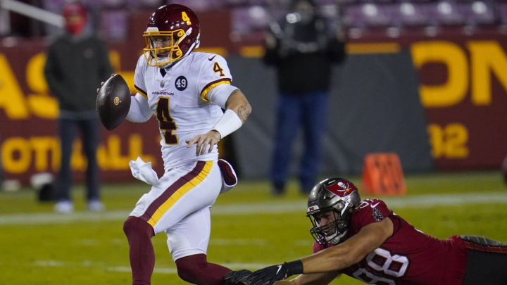 Taylor Heinicke puts in breakout performance in first career NFL playoff game