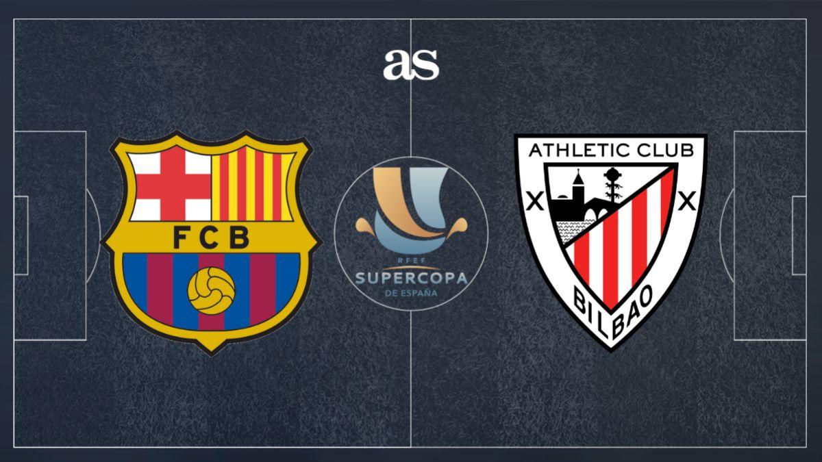 Barcelona vs Athletic Bilbao Full Match – Supercopa 2020/21