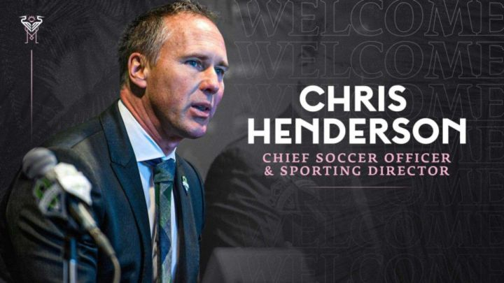 Inter Miami: Chris Henderson takes sporting director job