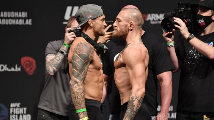 How much money do McGregor and Poirier get for the combat?