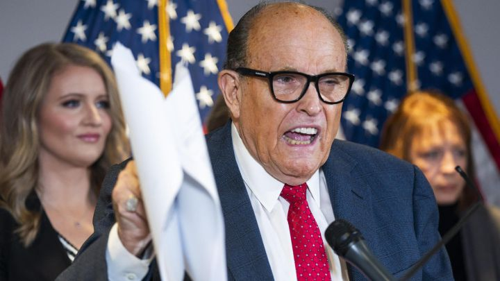 Dominion Voting Systems sues Rudy Giuliani for false election claims