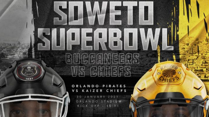 Soweto derby takes inspiration from Super Bowl ahead of 'Buccaneers'-Chiefs clash