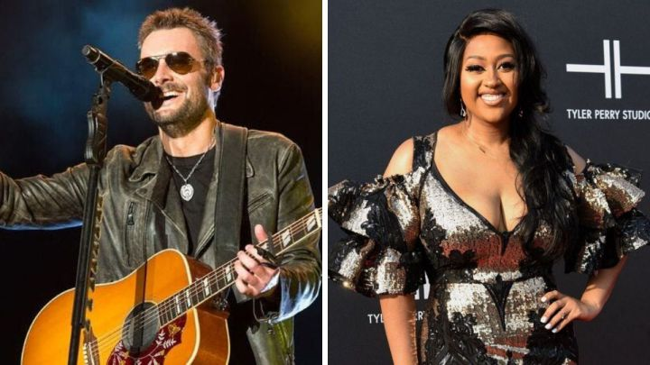 Eric Church and Jazmine Sullivan