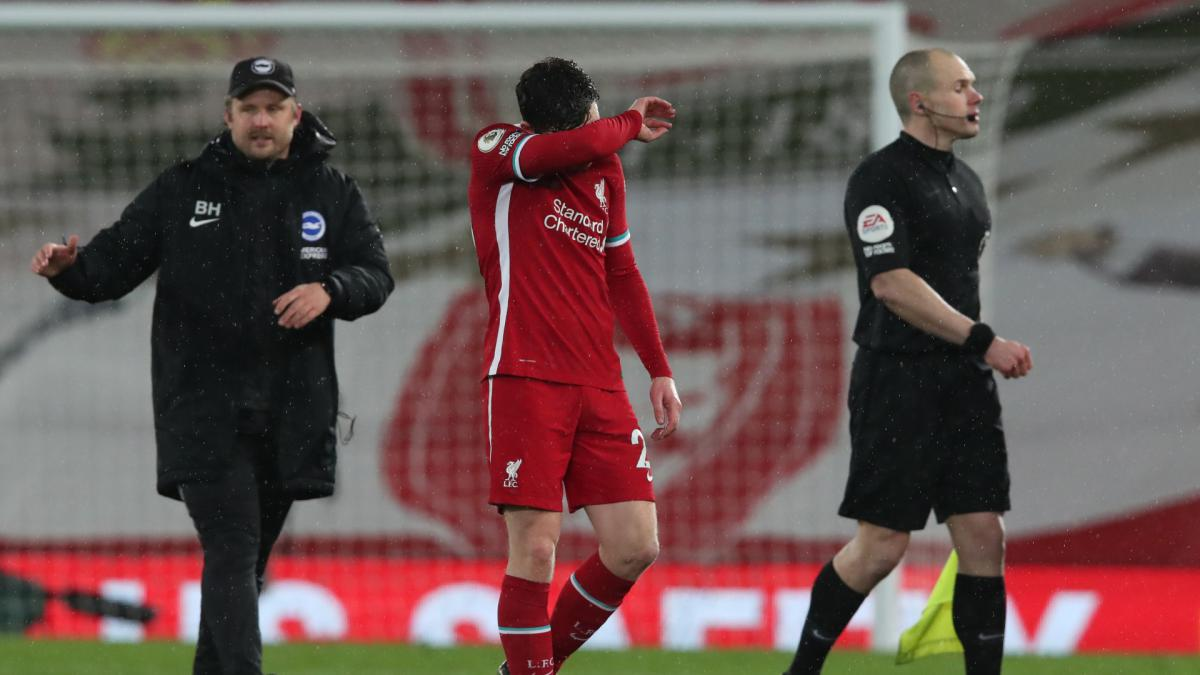 Reds not in title race 'at this moment' – Robertson sounds warning after Brighton loss