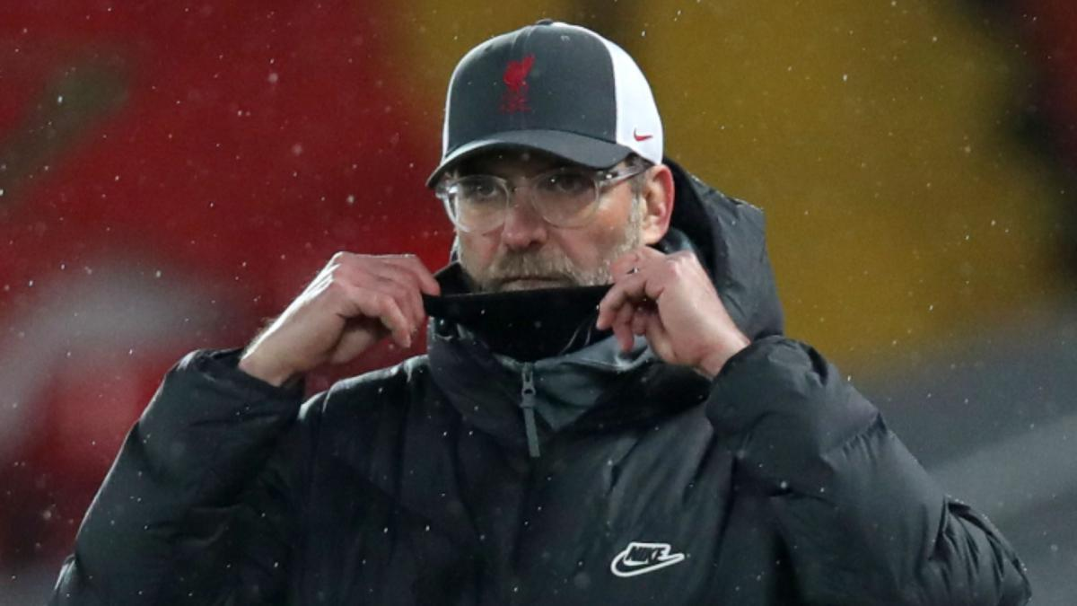 Klopp: Brighton defeat down to Liverpool mental fatigue
