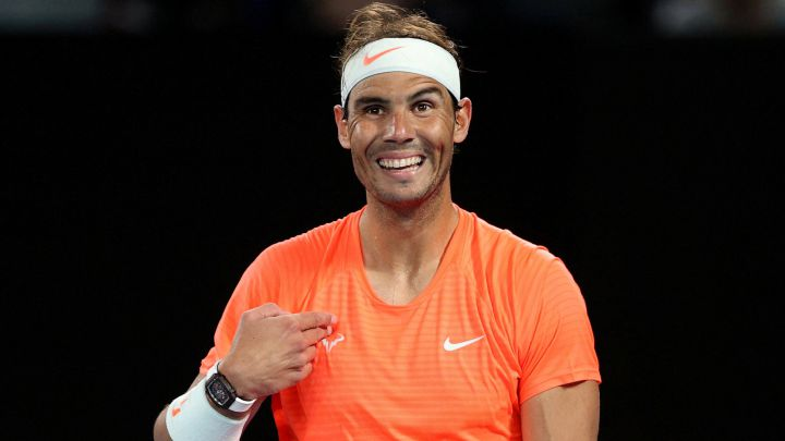 Nadal shrugs off extraordinary abuse from Melbourne fan