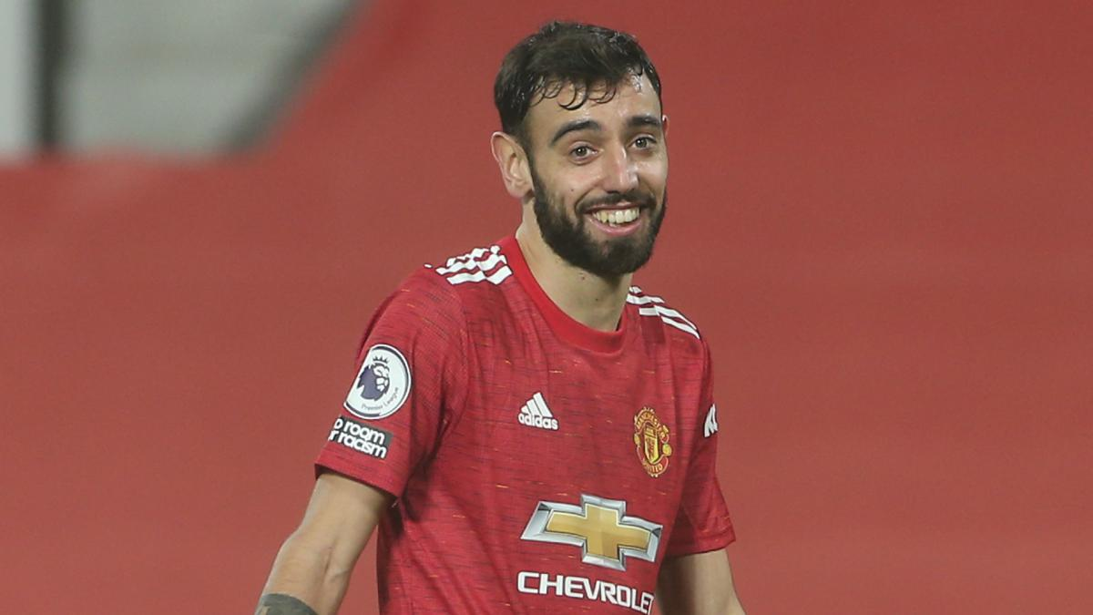 Bruno Fernandes scores again to close in on Messi, Lewandowski