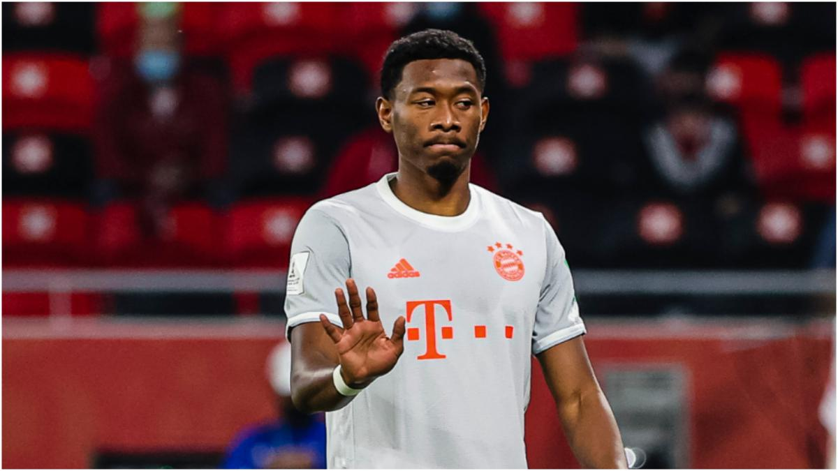 David Alaba to leave Bayern Munich at end of season